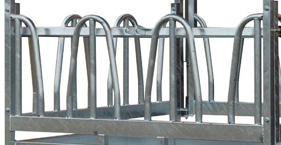 Náhradní panel pro palisádový krmelec Cosnet RTF s krmnou zábranou délka 1,83 m 3 hlavy