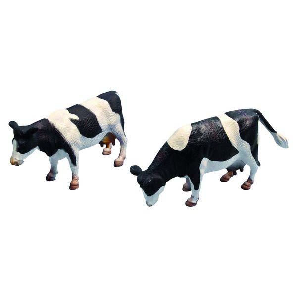 Kids Globe - figurky 2 strakatých krav v měřítku 1 : 32