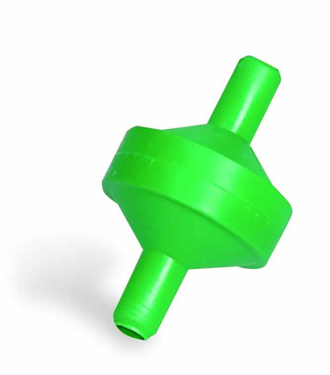 Filtr pro niplové hadičkové napájecí systémy bez kohoutku