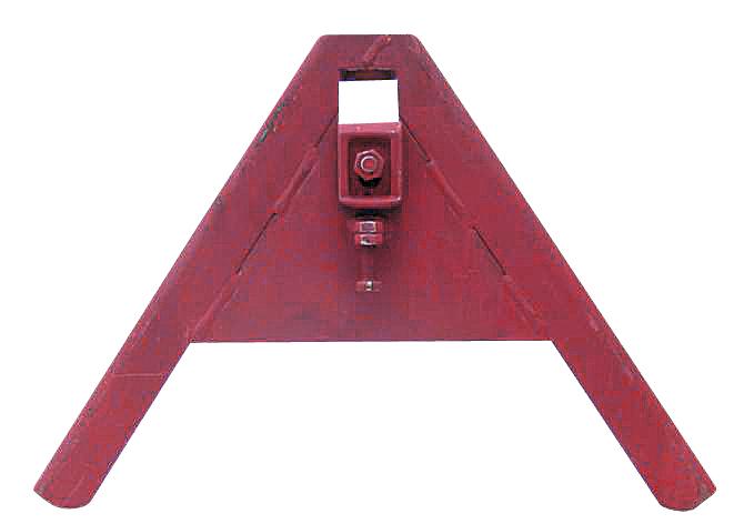 Trojúhelníkový mezirám komunální ze standardního U-profilu pro přístroje do 500 kg