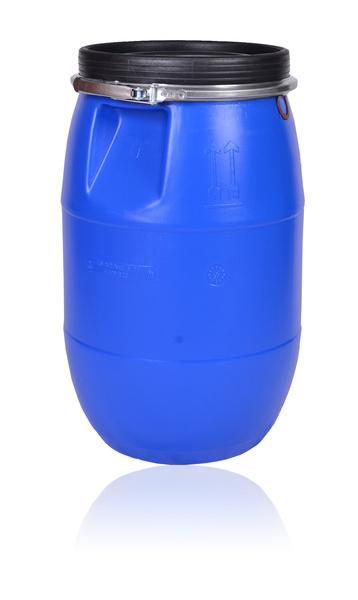 Hygienický plastový sud na dešťovou vodu, ovoce, potraviny 220 l velký, certifikát UN