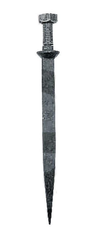 Hřeb do bran rovný 220 mm závit M16 x 50