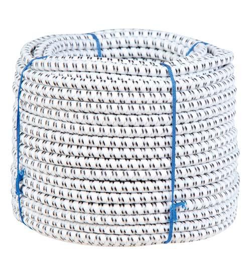 Chapron náhradní vodivé gumové lano pro brány s gumovým lanem průměr 7 mm 1 m