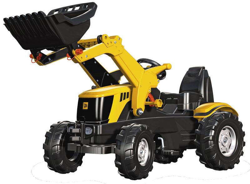 Rolly Toys - šlapací traktor s čelním nakladačem JCB 8250 modelová řada Rolly FarmTrac