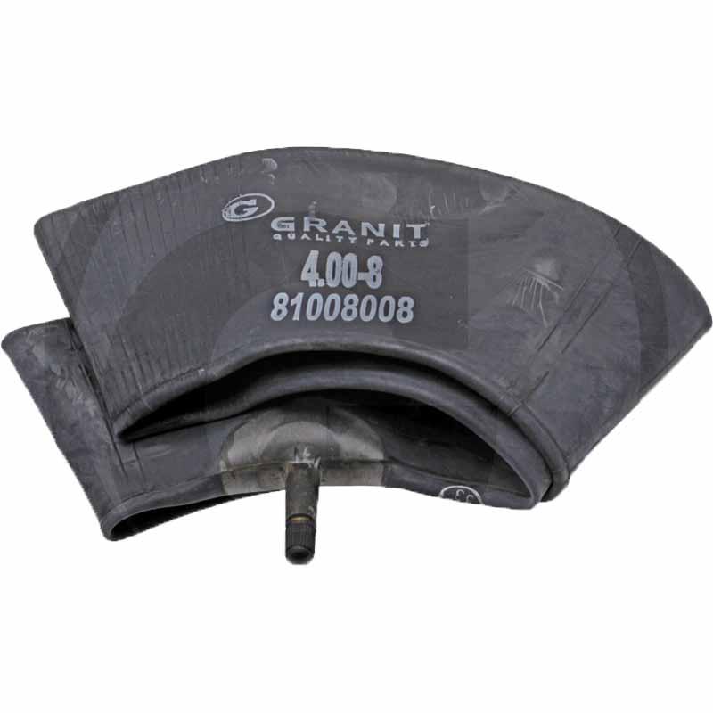 """Duše 4.00-8, 16 x 4 pro 8"""" pneumatiky ventil TR 13 rovný pro kolečko, rudlík, sekačku"""