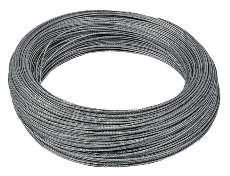 Ohradníkové ocelové lanko 1,2 mm x 200 m pozinkované