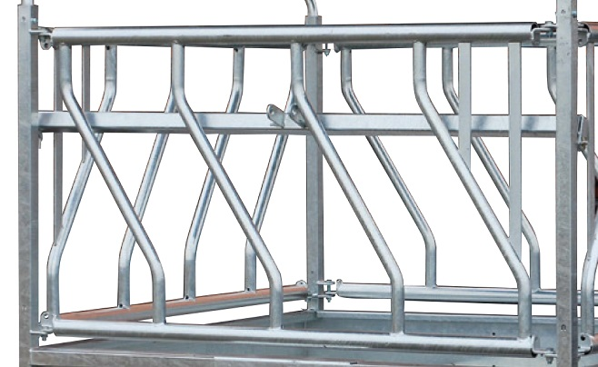 Náhradní panel pro palisádový krmelec Cosnet RTO s šikmým panelem délka 1,83 m 3 hlavy