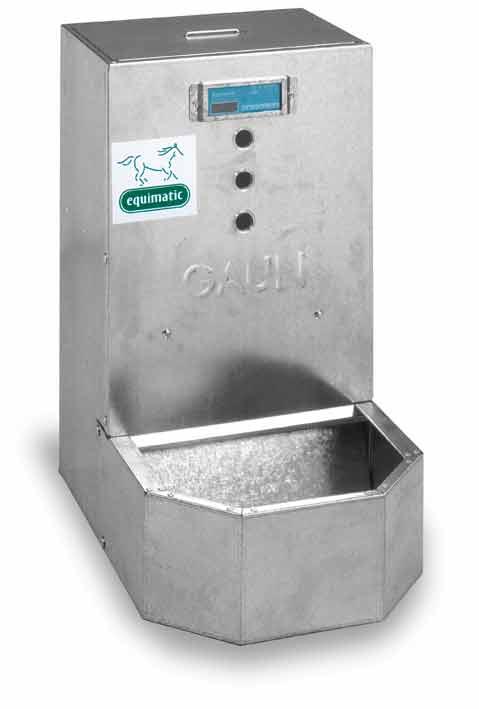 Automat na krmivo, dávkovač krmiva pro koně EQUIMATIC