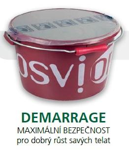 Minerální liz TOPLICK Osvior DEMARRAGE pro dobrý růst savých telat 20 kg