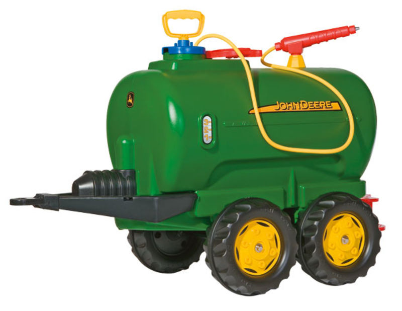 Rolly Toys - cisterna John Deere se dvěma nápravami a čerpadlem zelená