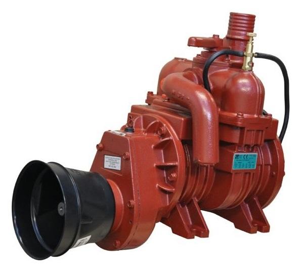Vývěva na fekál B&P MEC 4000 M, kompresor s olejovým čerpadlem kapacita 4350 l/min