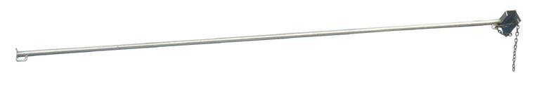 Stabilizační spojovací tyč manipulační ohrady pro skot