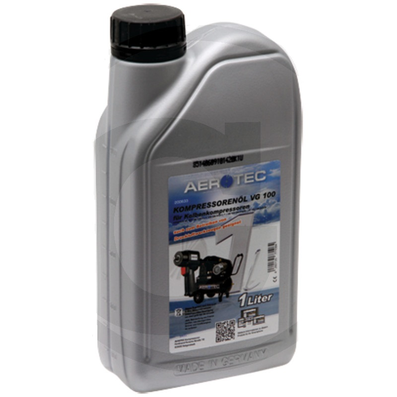 Kompresorový olej Aerotec VG 100 kombinovaný 1 l