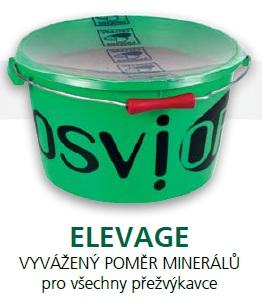 Minerální liz Star Bloc Osvior ELEVAGE pro koně, dobytek, ovce a kozy 20 kg