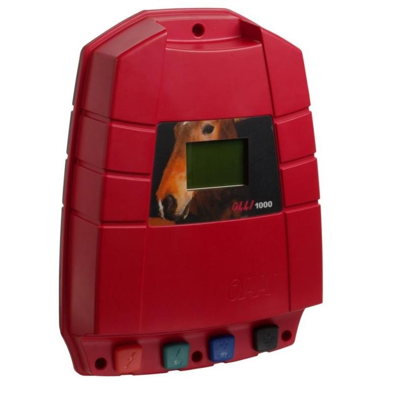 Síťový zdroj pro elektrický ohradník OLLI 1000 napětí 230V, 4,5J
