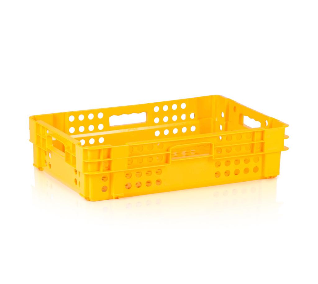 Plastová přepravka na pečivo typ PL1, nosnost 15 kg