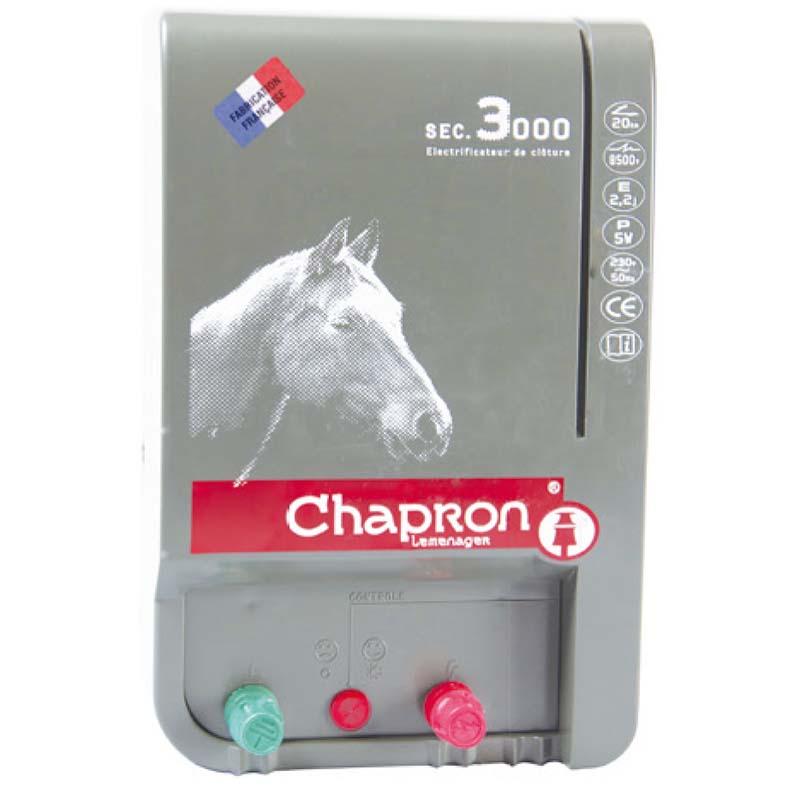 Chapron SEC 3000 síťový zdroj napětí pro elektrický ohradník 230V, 2,2J