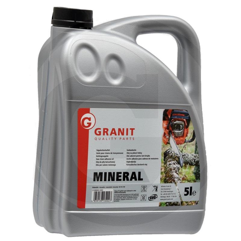 Olej na pilové řetězy Granit na minerální olejové bázi