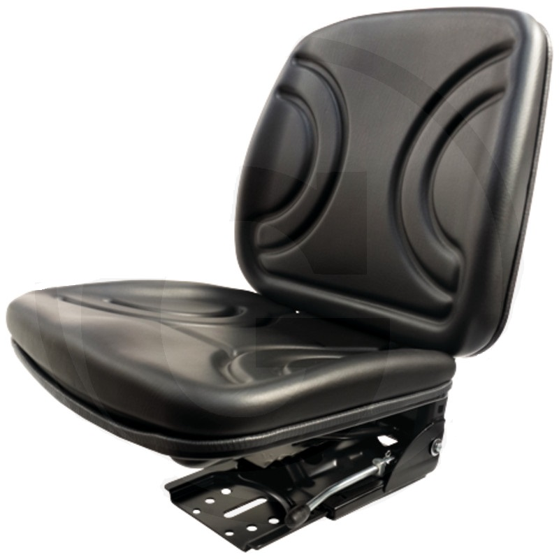 Traktorová sedačka Granit mechanicky odpružená PVC potah šířka 420 cm