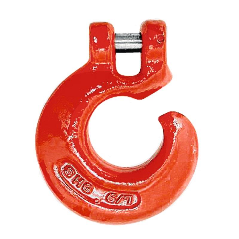 Závěsný hák s vidlicí pro řetězy 6-7 mm