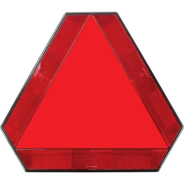 Varovný trojúhelník samolepka pro pomalu jedoucí vozidla a přívěsy