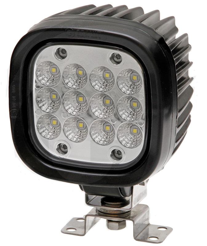 LED pracovní světlo 12 LED 12V a 24V pro osvětlení blízkého okolí 4650 Lumen