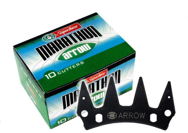 Supershear ARROW horní nůž na stříhání ovcí tloušťka 4,34 mm