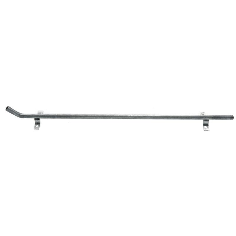 """Držák napájecího ventilu 1/2"""" s 2 držáky sklon 30° délka 750 mm"""