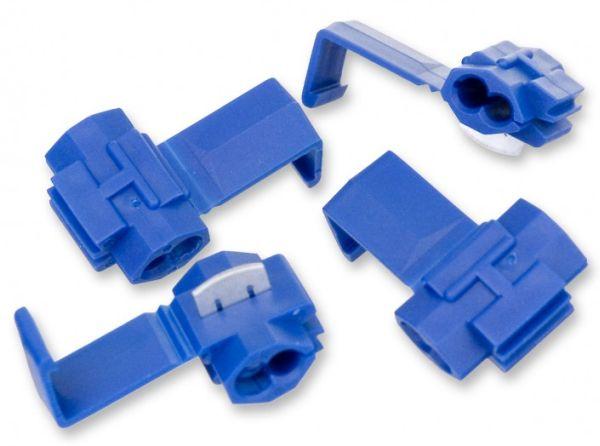 Zářezové konektory na spojování anténního drátu pro elektronický ohradník pro psy 4 ks