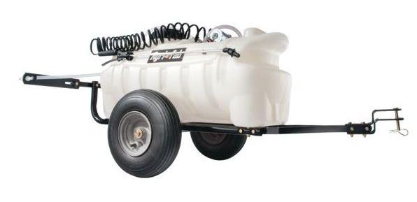 Tažený postřikovač Agri-Fab 95 l za zahradní traktor, čtyřkolku