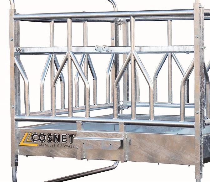 Náhradní panel pro palisádový samoobslužný krmelec Cosnet RTLS délka 1,83 m 3 hlavy