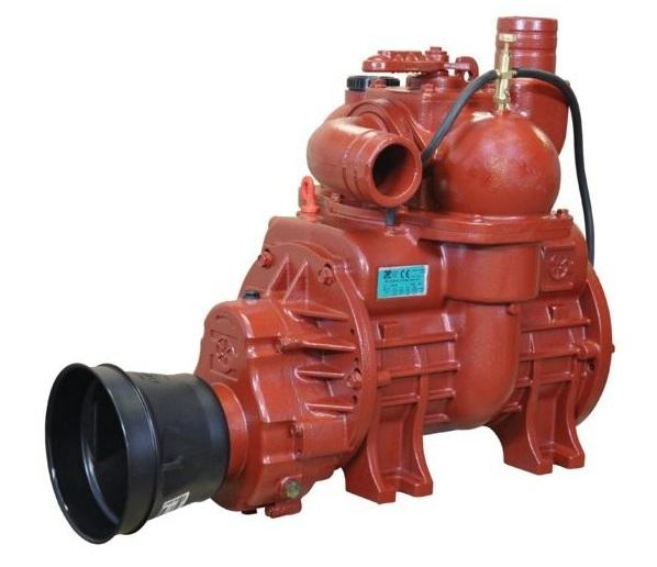 Vývěva na fekál B&P MEC 11000 M, kompresor s olejovým čerpadlem kapacita 11137 l/min