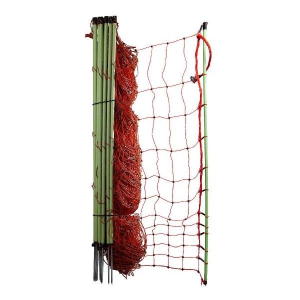 Vodivá síť pro drůbež, slepice, husy OLLI 112 cm/ 50 m 1 hrot pro elektrický ohradník