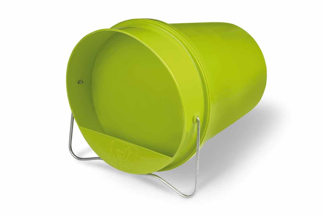 Napájecí kbelík 6 l Gaun pro drůbež plastový zelený