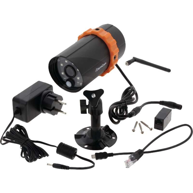 Kamerový stájový systém, stájová kamera Luda.Farm FarmCam™ IP s nočním viděním