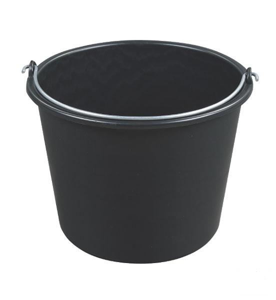 Kbelík černý 12 l