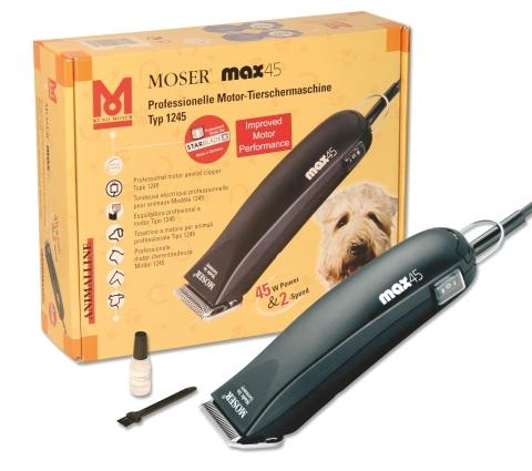 Stříhací strojek pro psy, dobytek a koně Moser max45
