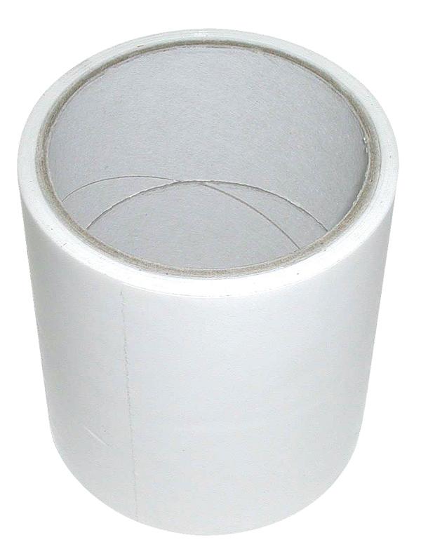 Lepící opravná páska na silážní fólie bílá šířka 100 mm délka 25 m