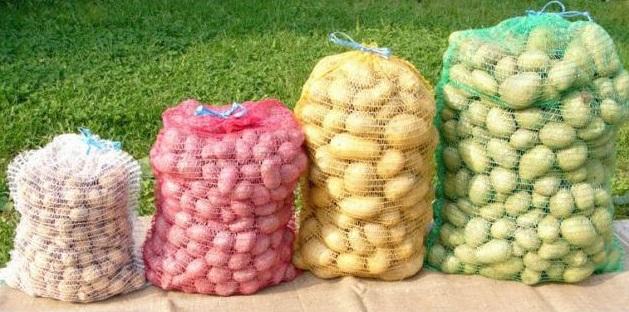 Rašlový pytel 60 x 100 cm (50 kg) balení 5 ks na brambory, zeleninu a ovoce
