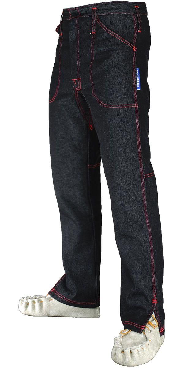 Kalhoty pro střihače ovcí s 2 předními kapsami velikost Regular 36/32 pas 91 cm