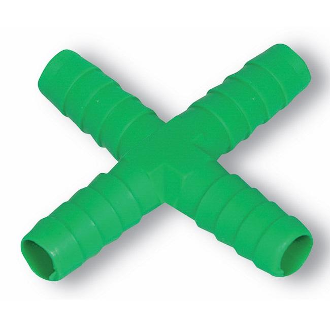 X spojka na hadičku 9 mm pro hadičkové rozvody k napáječkám pro králíky a drůbež