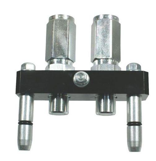Multifaster 2PB06-2-12G MC samec pákový rychloupínač  hydrauliky 2 rychlospojky