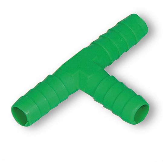 T spojka na hadičku 9 mm pro hadičkové rozvody k napáječkám pro králíky a drůbež