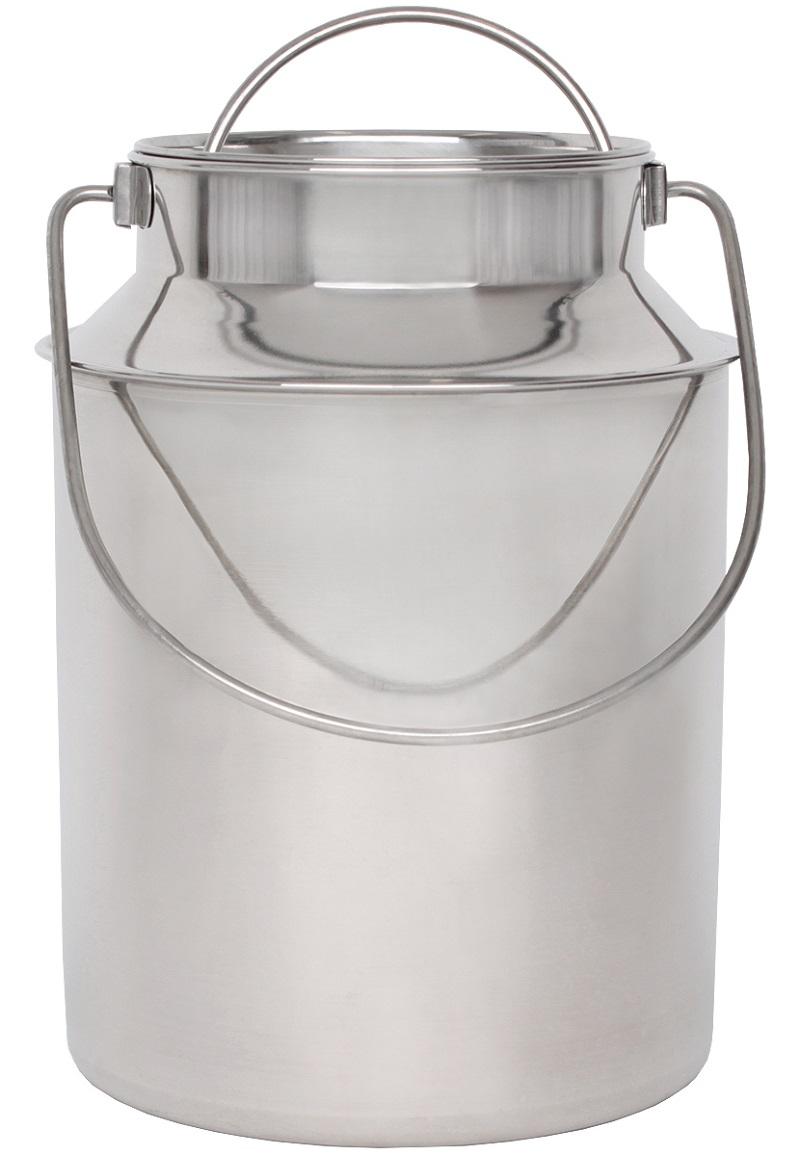 Nerezová přepravní konev na mléko BEEKETAL BMK-10 na 8,7 l včetně víka