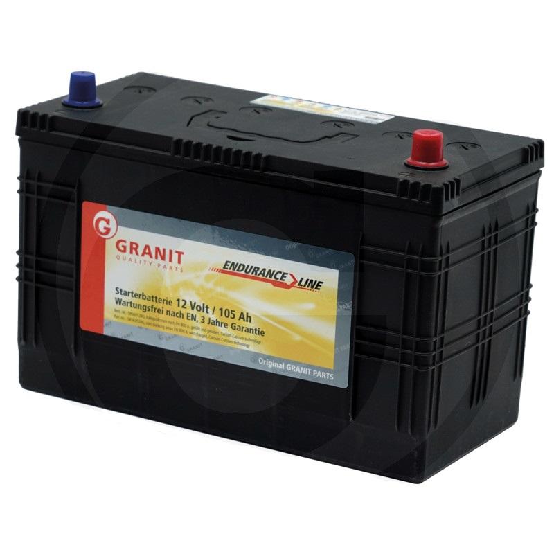 Auto baterie Granit Endurance Line 12V / 105 Ah, patice B00 pro Renault