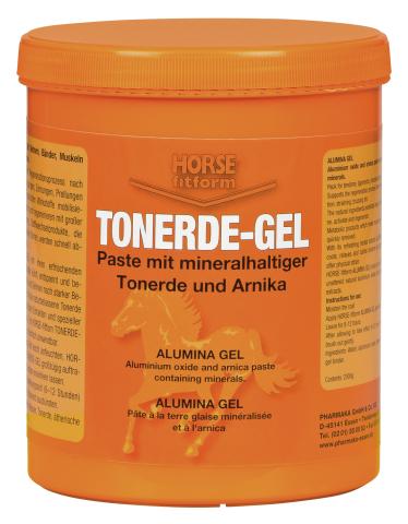 Tonerde gel Horse Fitform pro koně s jílem a arnikou 2 kg