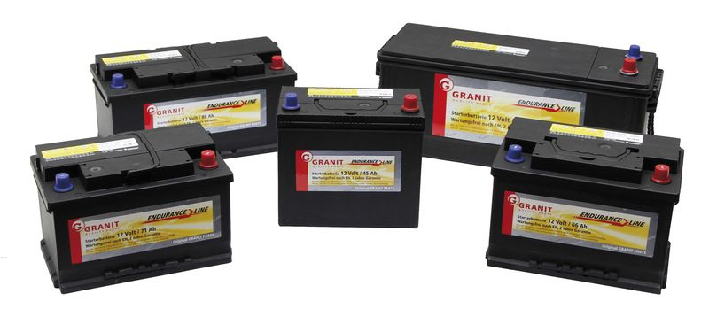 Autobaterie Granit Endurance Line 12V / 110 Ah, patice B03 pro Fendt, Case IH, John Deere
