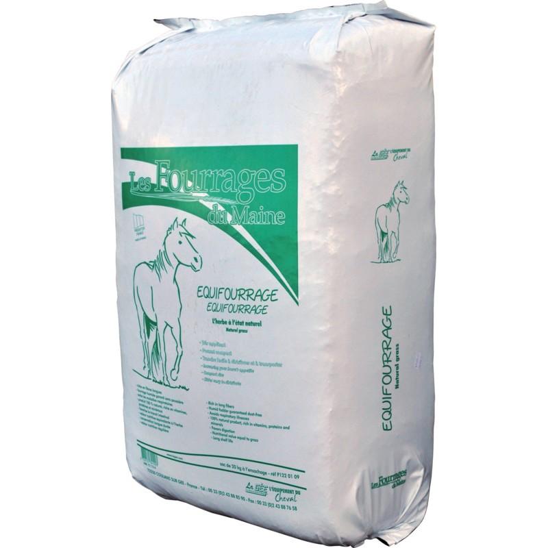 Equifourrage senáž pro koně, skot, ovce a kozy 19 kg z kvalitní mladé luční trávy a bylin