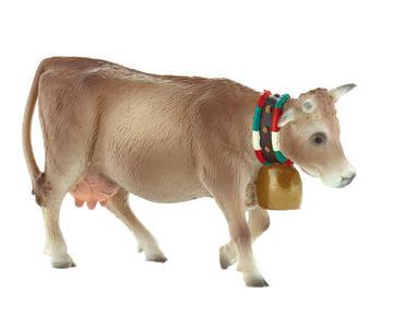 Bullyland - figurka alpská kráva Lara