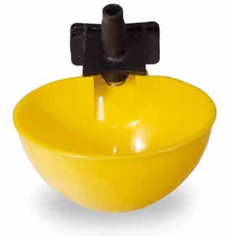 Misková hadičková zátěžová napáječka automatická pro křepelky, ptactvo a malá zvířata